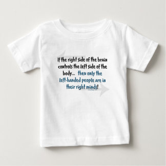 Left-handed people baby T-Shirt