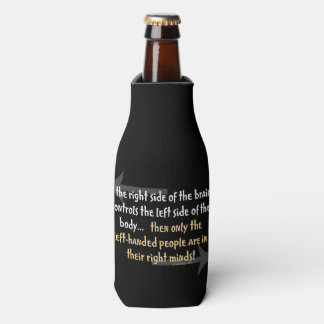 Left-handed people bottle cooler
