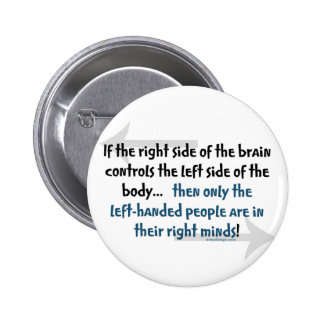 Left-handed people button