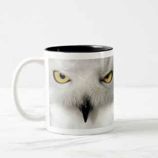 Left-Handed Snow Owl Mug