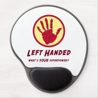 Left Handed Super Power Gel Mouse Pad
