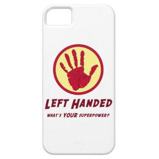 Left Handed Super Power iPhone SE/5/5s Case