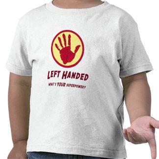 Left Handed Super Power Tees