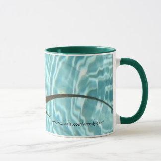 left-handed Swimming Lizard mug