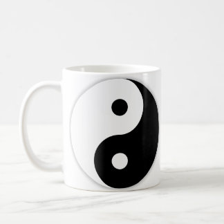 Left-Handed Yin & Yang Coffee Mug