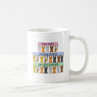 Left Hander's Day August 13th. Coffee Mug