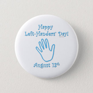 Left Handers Day Button