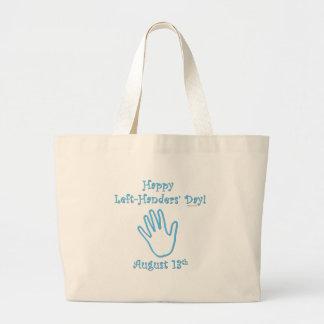 Left-hander's Day Canvas Bag