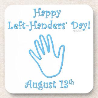 Left Hander's Day Coaster