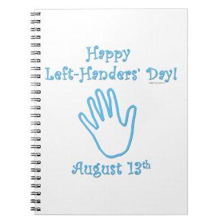 Left Hander's Day Notebooks