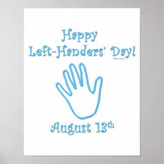 Left Hander's Day Poster