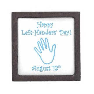 Left Hander's Day Premium Trinket Boxes