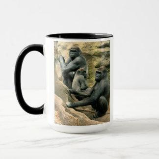 Left Handers' Gorilla Family Mug