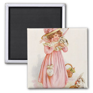 Left in Charge, 1920 2 Inch Square Magnet