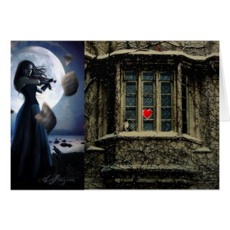 Left My Heart  Gothic Card