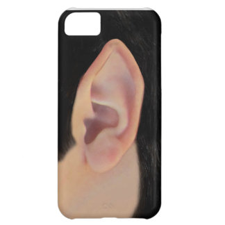Left Pointy Ear iPhone 5C Case