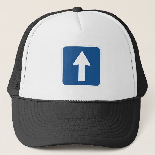 Left Right Up Arrow Sign - Products & Designs! Trucker Hat