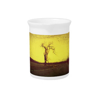 Left Side Road Tree Drink Pitchers