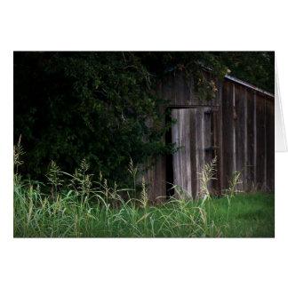 Open Barn Door barn door greeting cards | zazzle