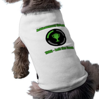 Left the Couch - Achievement Unlocked Doggie T Shirt