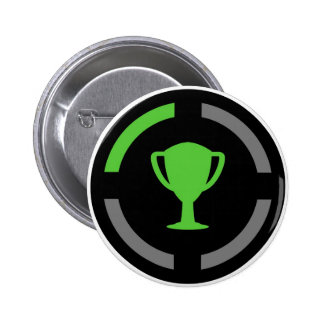 Left the Couch - Achievement Unlocked Pinback Button