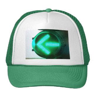 Left Turn Arrow Cap Trucker Hat