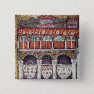 Left wing of the Palazzo di Teodorico, 527-99 Pinback Button