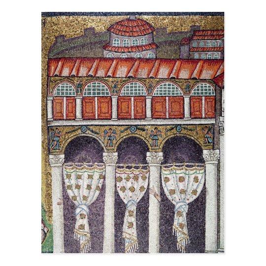 Left wing of the Palazzo di Teodorico, 527-99 Postcard