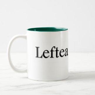 Leftea Left Handed Tea Two-Tone Coffee Mug