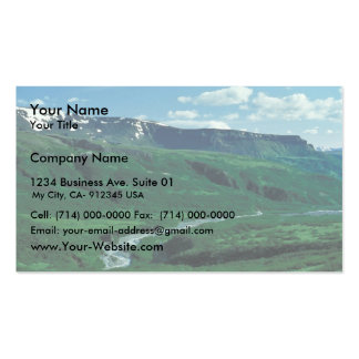 Lefthand Valley Wilderness Area in Summer Business Card Template