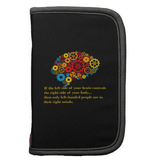 Lefthanders in the right mind folio planner