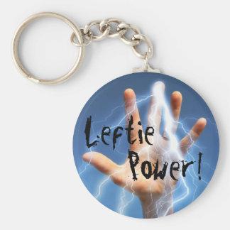 Leftie Power! Keychain
