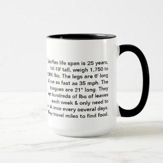 Lefties Giraffe Mug
