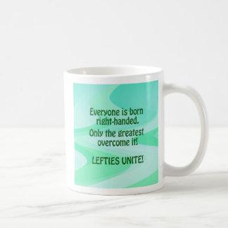 Lefties Unite Coffee Mug