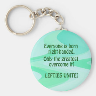Lefties Unite Keychain