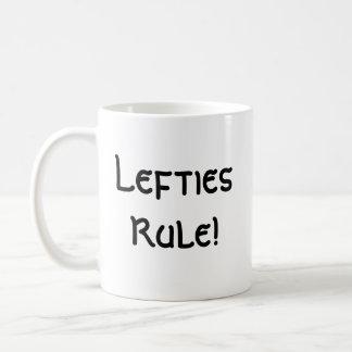 ¡LeftiesRule! Taza