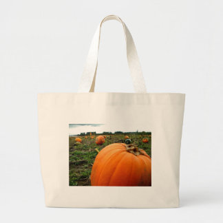 Leftover Pumpkins Large Tote Bag
