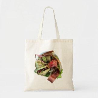 Leftover Rhubarb Grocery Bag