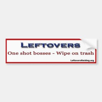 Leftovers Raiding Bumper Sticker