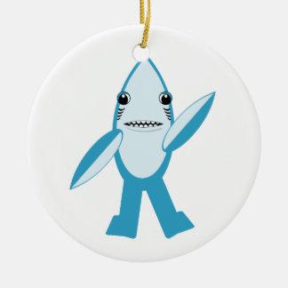 #LeftShark #RightShark Left Shark Right Shark Ceramic Ornament