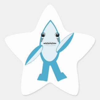 #LeftShark #RightShark Left Shark Right Shark Star Sticker