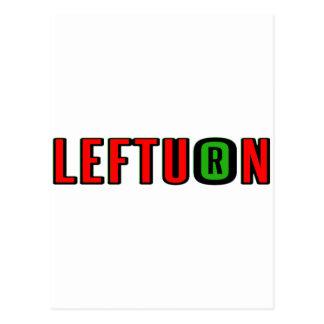 lefturn-logo postcards