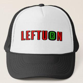 lefturn-logo trucker hat