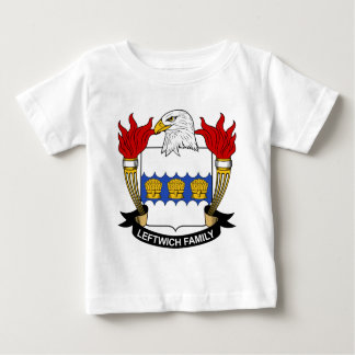 Leftwich Family Crest Baby T-Shirt