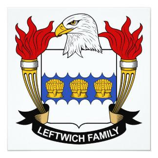 Leftwich Family Crest Invitation