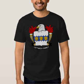 Leftwich Family Crest Tee Shirts