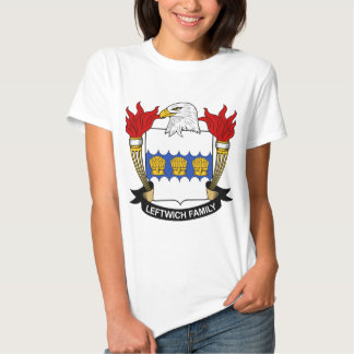 Leftwich Family Crest Tshirt
