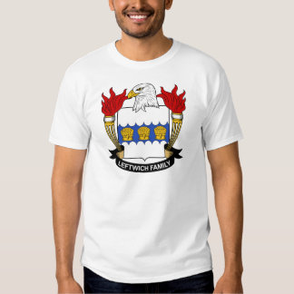 Leftwich Family Crest Tshirts