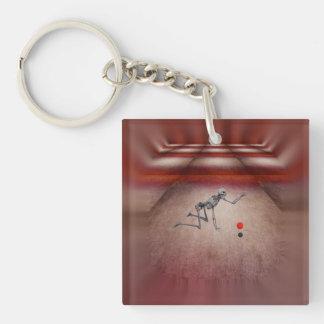 Lefty Keychain