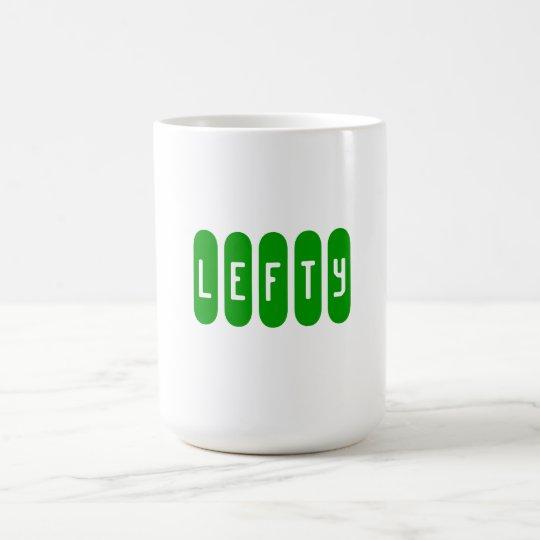 """"""" Lefty """" mug"""